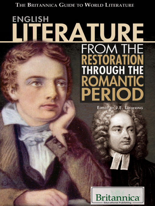 English Literature from the Restoration through the Romantic Period (eBook)