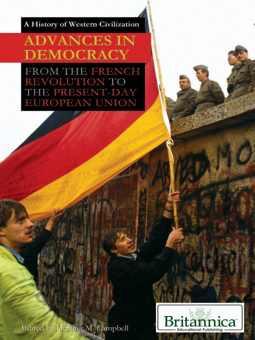 Advances in Democracy (eBook): From the French Revolution to the Present-Day European Union