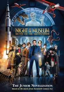 Battle at the Smithsonian: The Junior Novelization Night at the Museum Series, Book 2