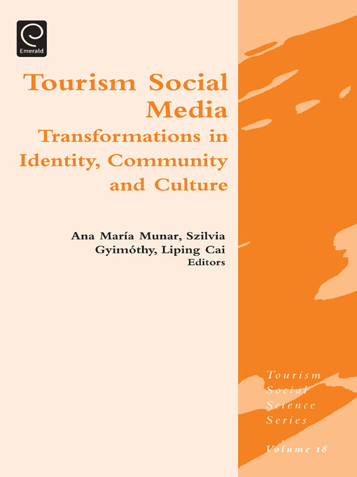 Tourism Social Media (eBook): Transformations in Identity, Community and Culture
