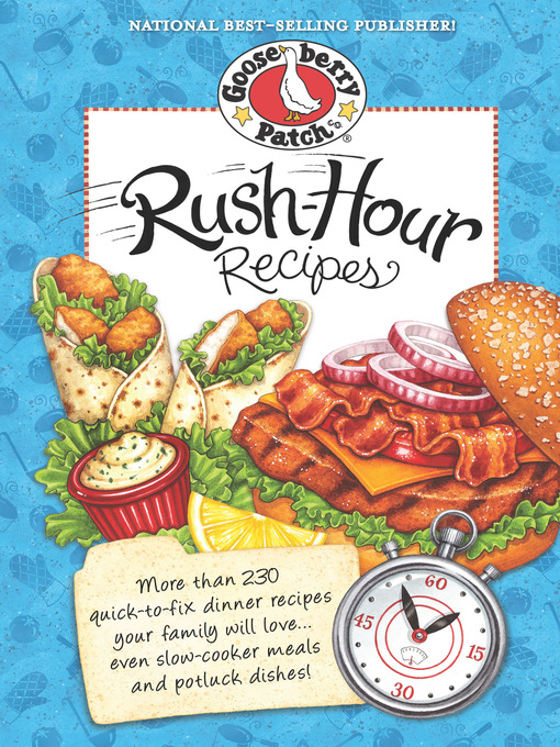 Rush Hour Recipes Cookbook (eBook)