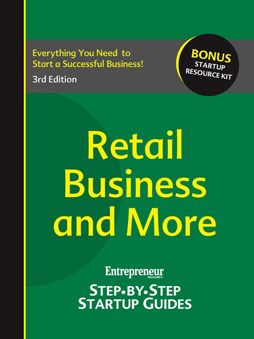 Retail Business (eBook): Step-by-Step Startup Guide