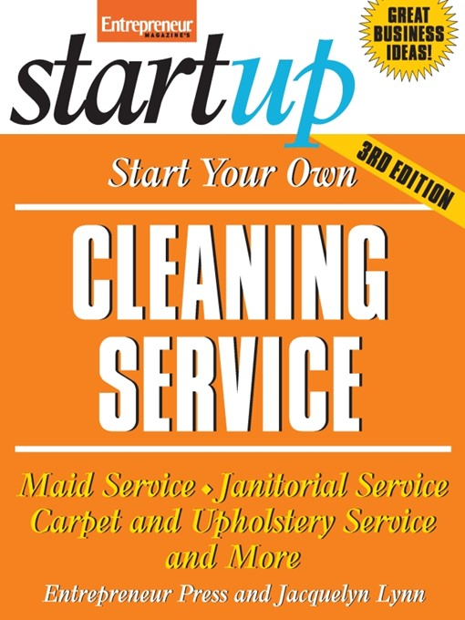 Start Your Own Cleaning Service (eBook)