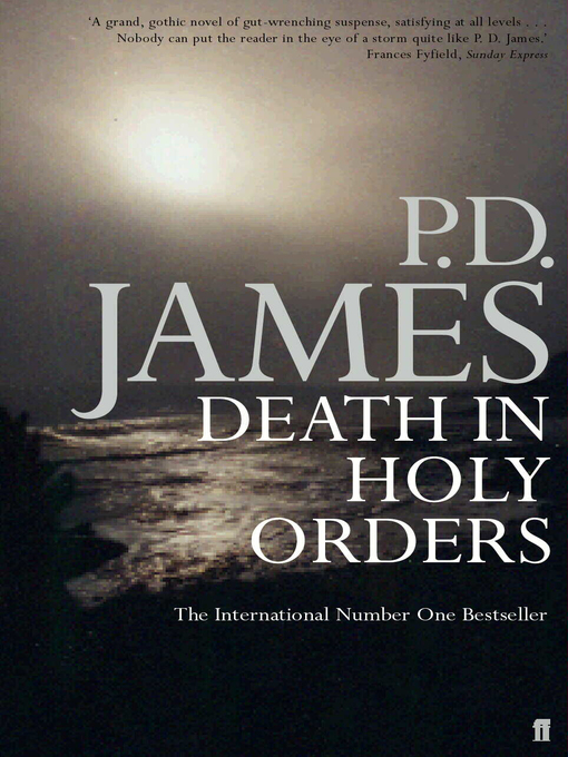 Death in Holy Orders (eBook): Inspector Adam Dalgliesh Series, Book 11