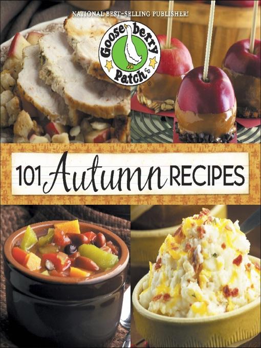 Чтобы просмотреть сведения о материале eBook: 101 Autumn Recipes, автор Goo