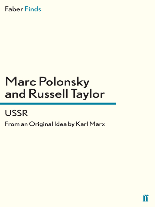 USSR (eBook): From an Original Idea by Karl Marx