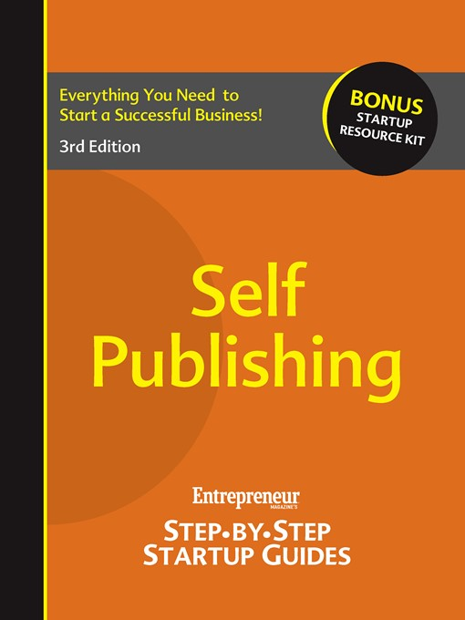 Self Publishing (eBook): Step-by-Step Startup Guide