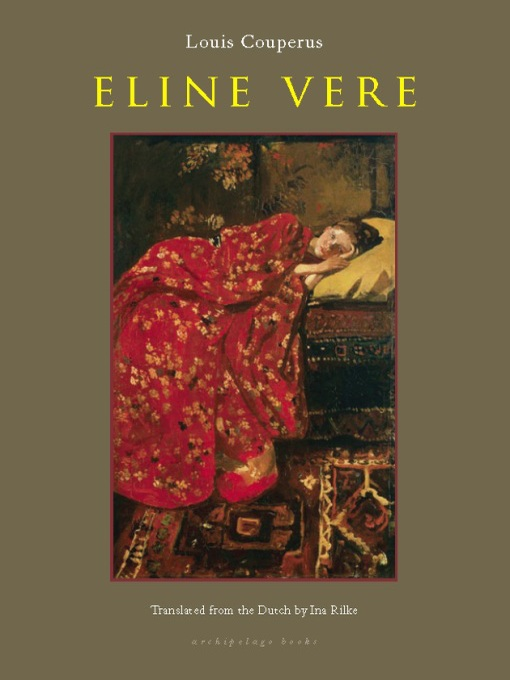 Cover image for Eline Vere