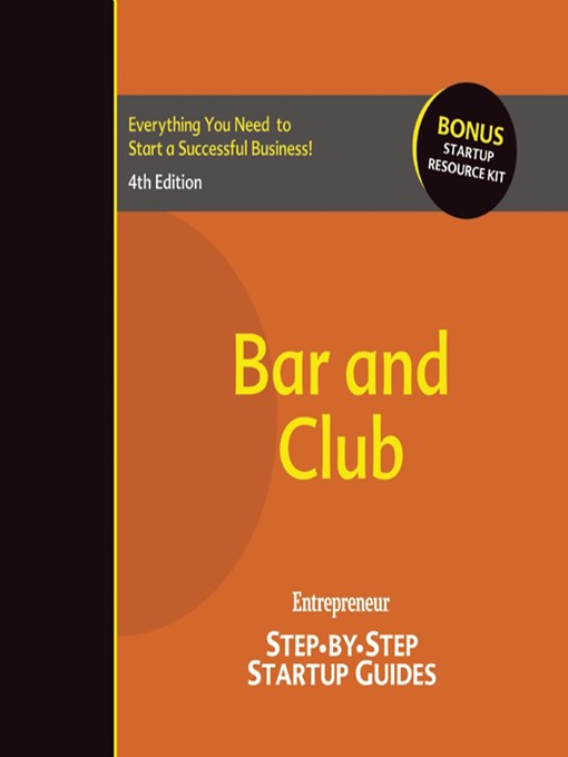 Bar and Club (eBook): Step-by-Step Startup Guide