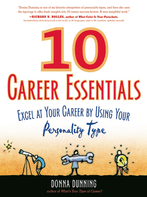 10 Career Essentials Excel at Your Career by Using Your Personality Type