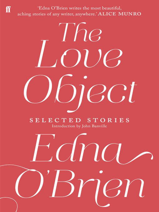 The Love Object (eBook): Selected Stories of Edna O'Brien