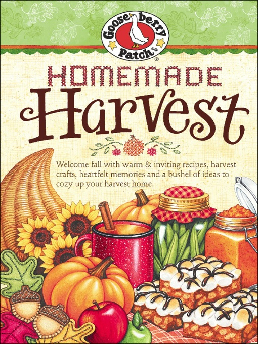 Homemade Harvest (eBook)
