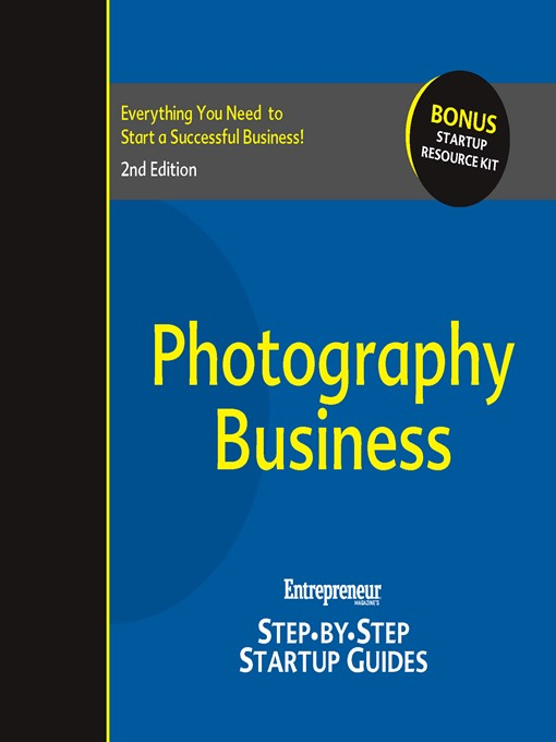 Photography Business (eBook): Step-by-Step Startup Guide