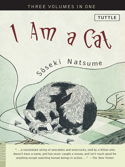 Natsume Soseki i am a cat epub