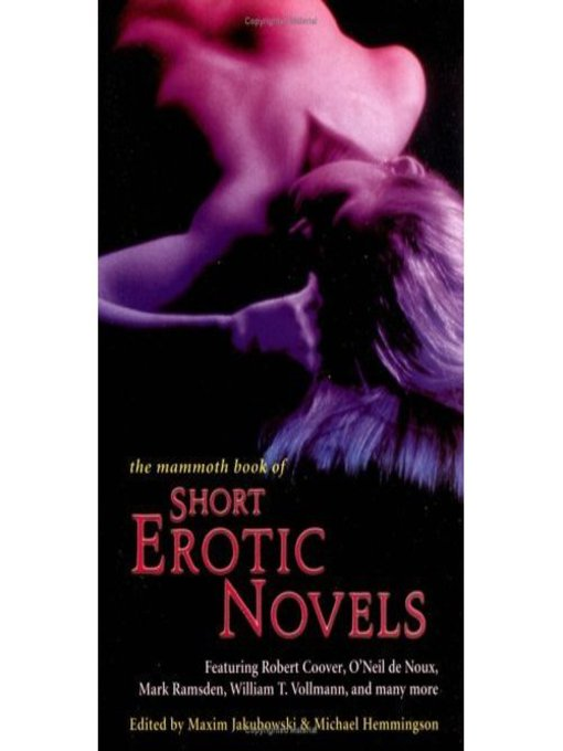 The Mammoth Book of Short Erotic Novels (eBook)