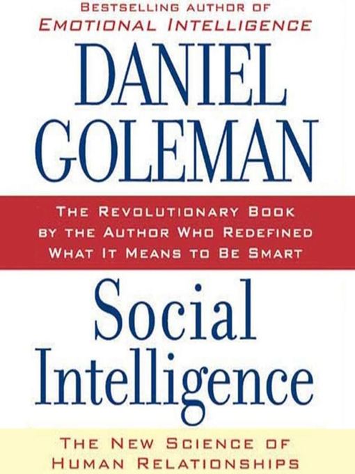 Cover image for Social Intelligence