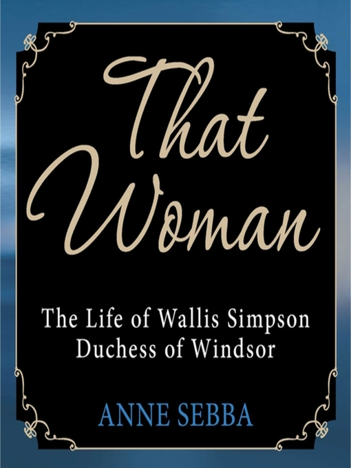 Cover image for That Woman