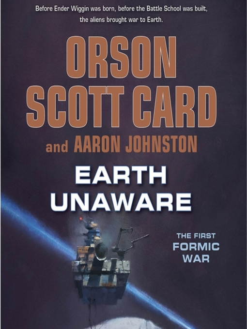 Earth Unaware Earth Unaware by Orson Scott