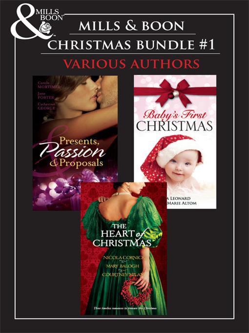 Mills & Boon Christmas Trio Bundle #1 (eBook)