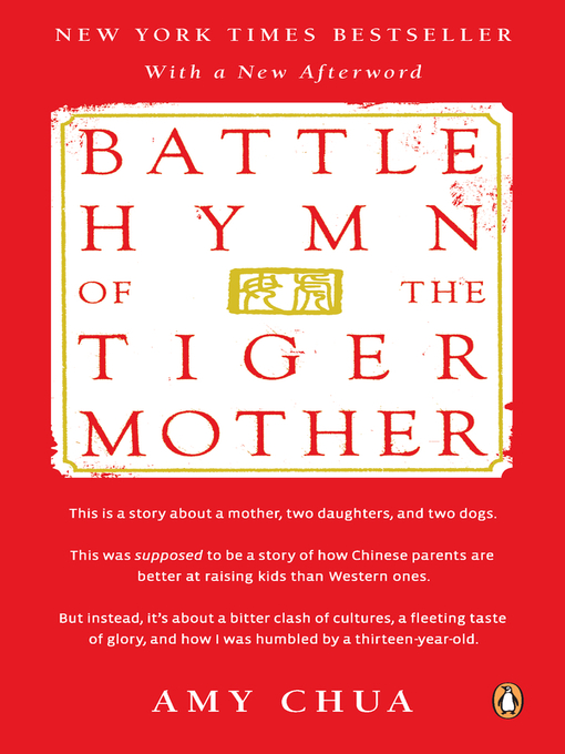 Cover image for Battle Hymn of the Tiger Mother