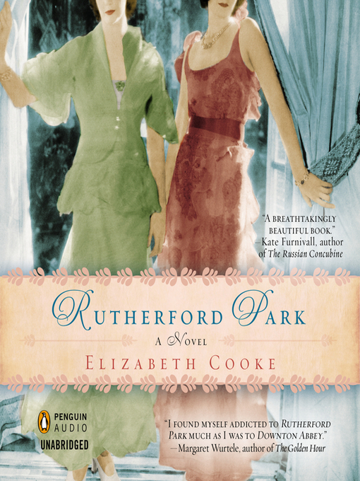 Rutherford Park (MP3): A Novel