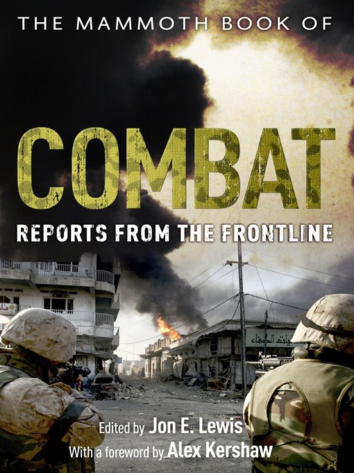 The Mammoth Book of Combat: Reports from the Frontline - Mammoth (eBook)