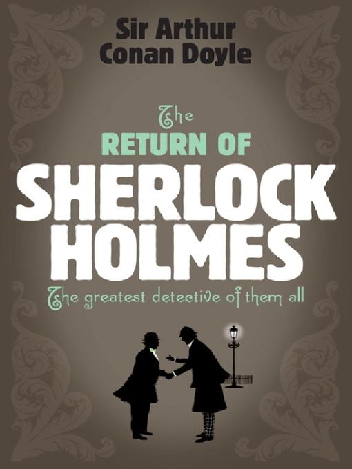 The Return of Sherlock Holmes - Sherlock Holmes (eBook)