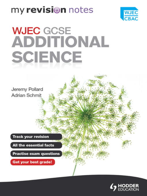WJEC GCSE Additional Science - My Revision Notes (eBook)