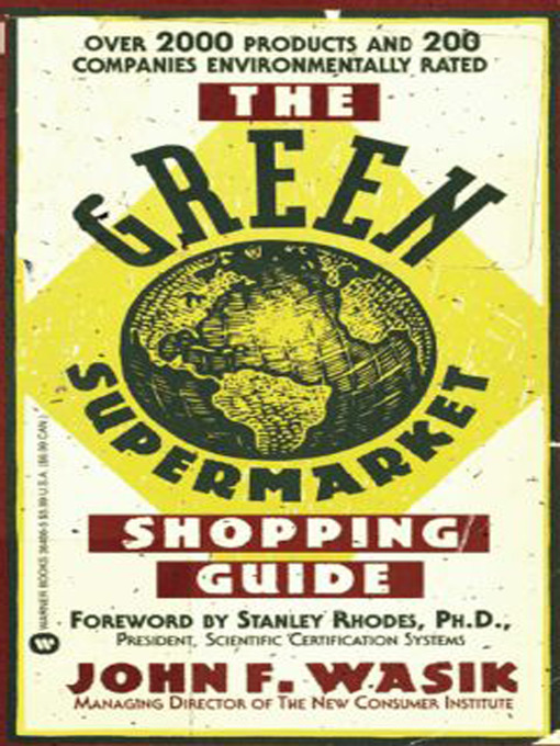 The Green Supermarket Shopping Guide (eBook)