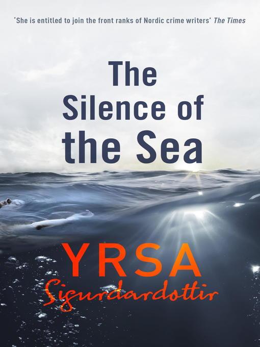 The Silence of the Sea: Thora Gudmundsdottir Book 6 - Thora Gudmundsdottir (eBook)