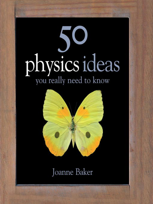 50 Physics Ideas You Really Need to Know (eBook)