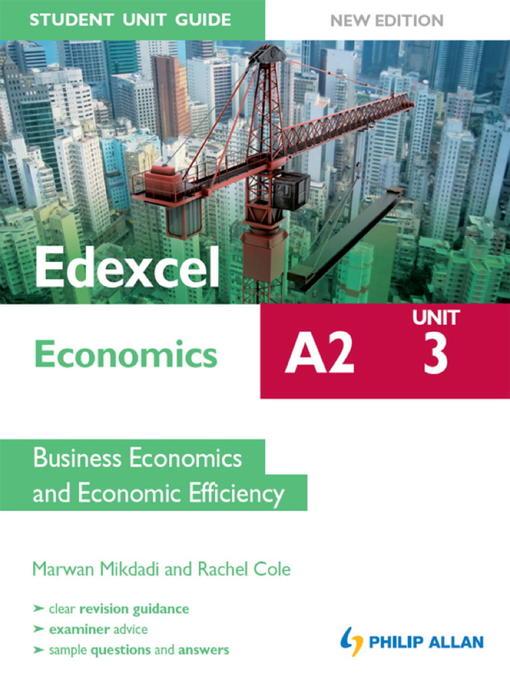 Edexcel A2 Economics Student Unit Guide (eBook)