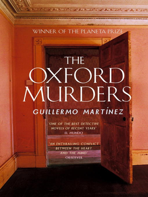 The Oxford Murders (eBook)