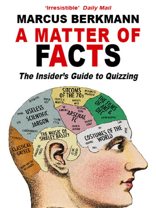 A Matter of Facts: The Insider's Guide To Quizzing (eBook)