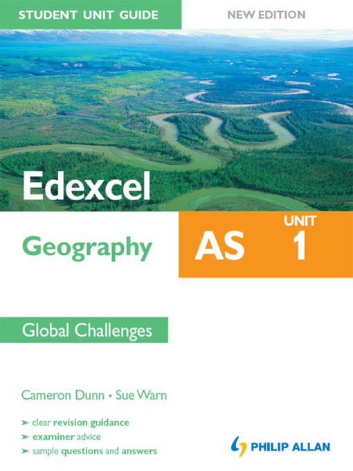 Edexcel AS Geography Student Unit Guide (eBook): Unit 1 Global Challenges