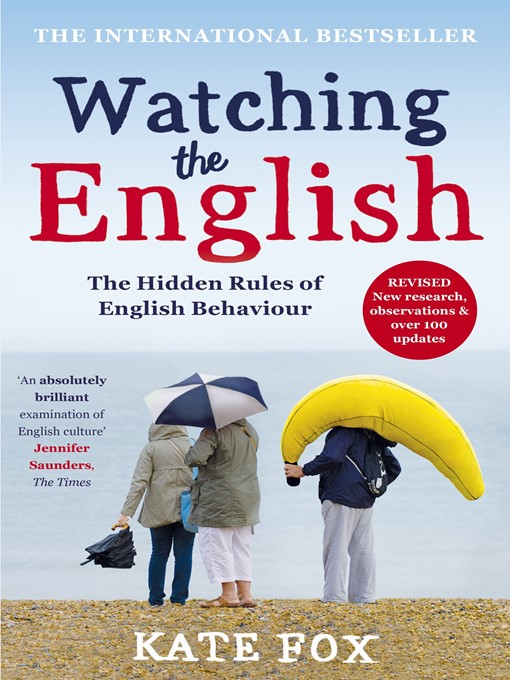 Watching the English (eBook): The International Bestseller