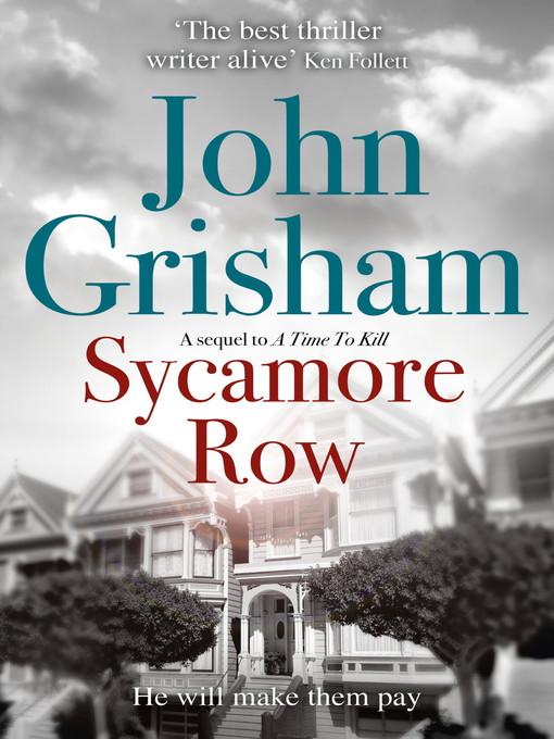 Sycamore Row: Jake Brigance Series, Book 2 - Jake Brigance (eBook)