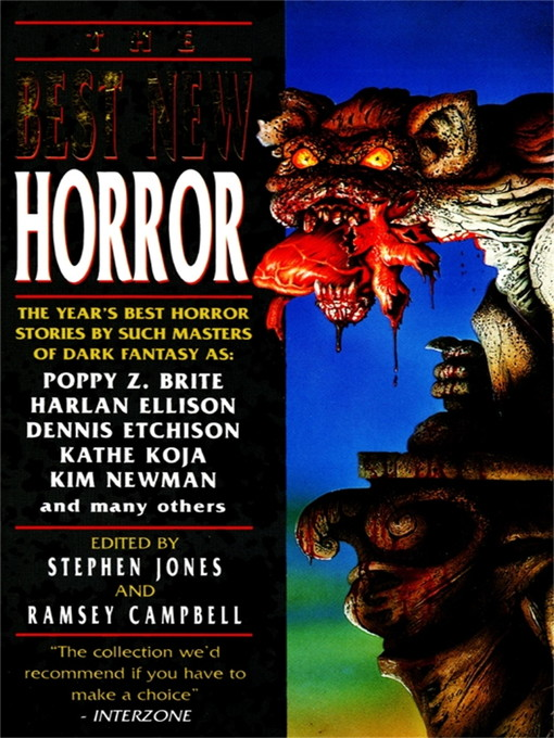 The Best New Horror 5 Ebook 2013 Worldcat