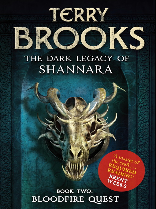 Bloodfire Quest (eBook): The Dark Legacy of Shannara Trilogy, Book 2