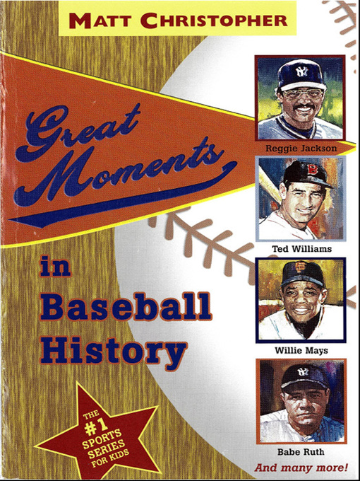 Great Moments in Baseball History (eBook)