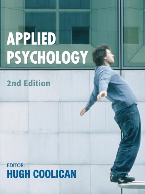 Applied Psychology (eBook)
