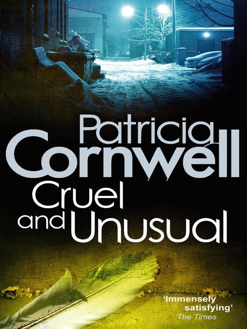 Cruel and Unusual (eBook): Kay Scarpetta Series, Book 4