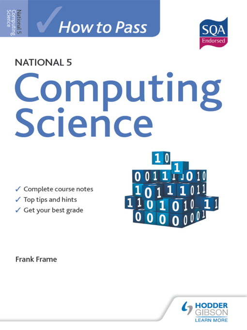 How to Pass National 5 Computing Science (eBook)
