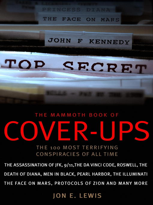 The Mammoth Book of Cover-Ups - Mammoth (eBook)