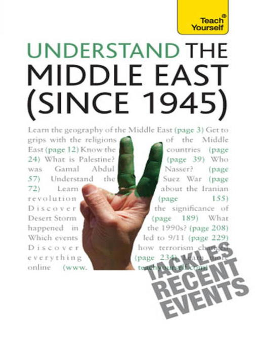 Understand the Middle East (since 1945) (eBook)