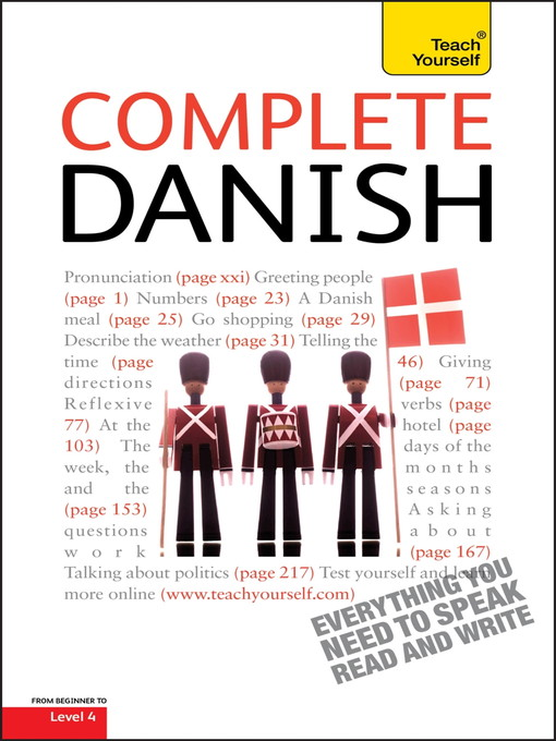 Complete Danish - Teach Yourself (eBook)
