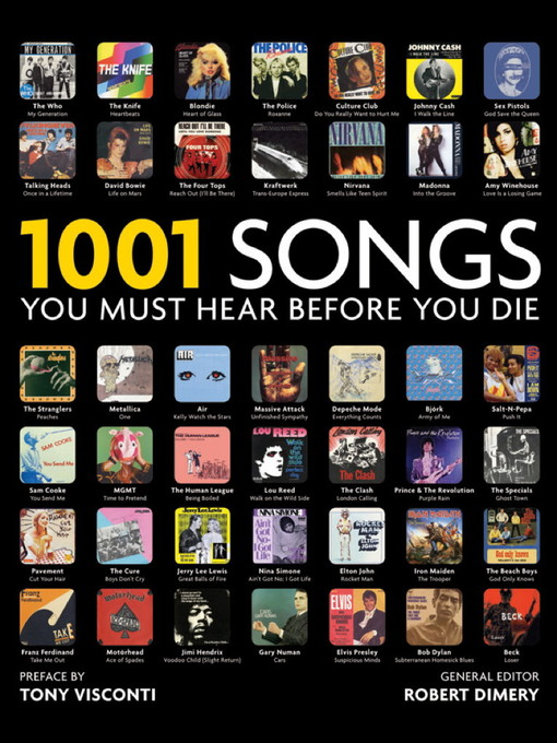 1001 Songs (eBook): You Must Hear Before You Die