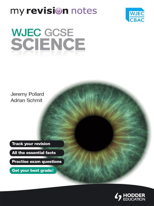 My Revision Notes (eBook): WJEC GCSE Science eBook