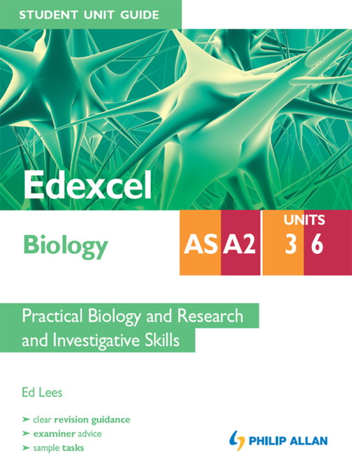 edexcel as biology unit 3 coursework Edexcel gce as and a level biology information for students and teachers,  including the  unit 3 coursework moderation podcast.