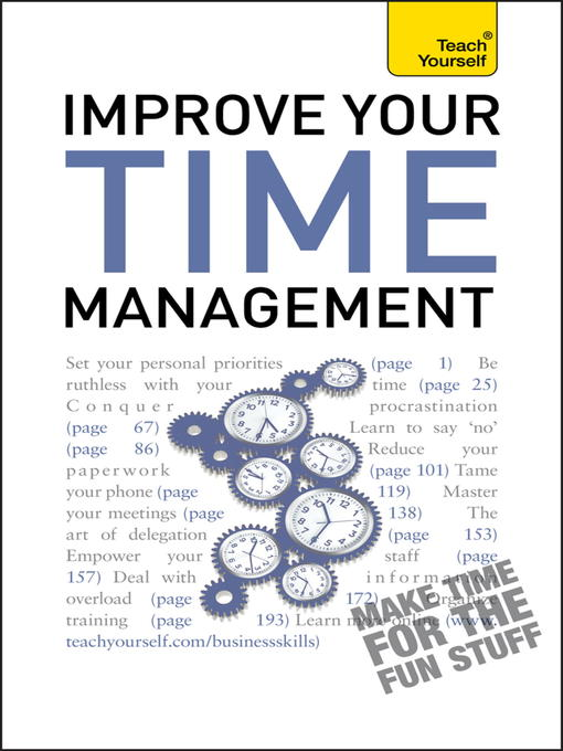 Improve Your Time Management (eBook)